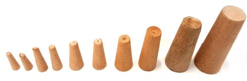 Waveline Emergency Marine Safety Wooden Plug set of 9 up to 38mm